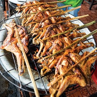 Gai Yahng (Thai Grilled Chicken with Sweet Chile Sauce