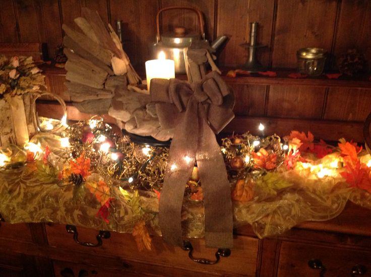 Rustic thanksgiving decor fall decorations recipes