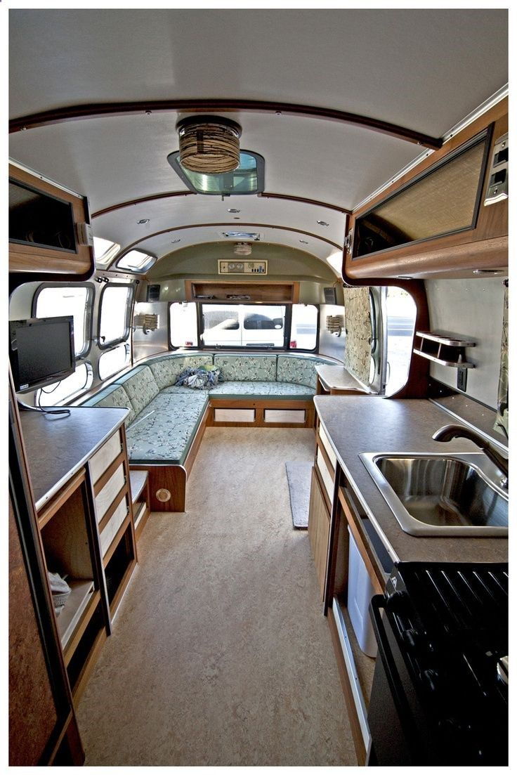 Vintage Airstream Remodel Idea 2 Outside Pinterest