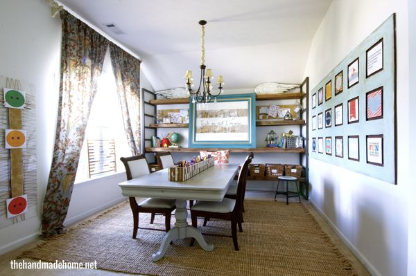Pin by barbara d 39 camp on for the home pinterest for Homeschool dining room ideas