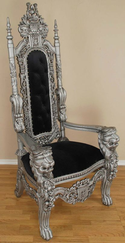 Gothic chair i like it pinterest for Dining room head chairs