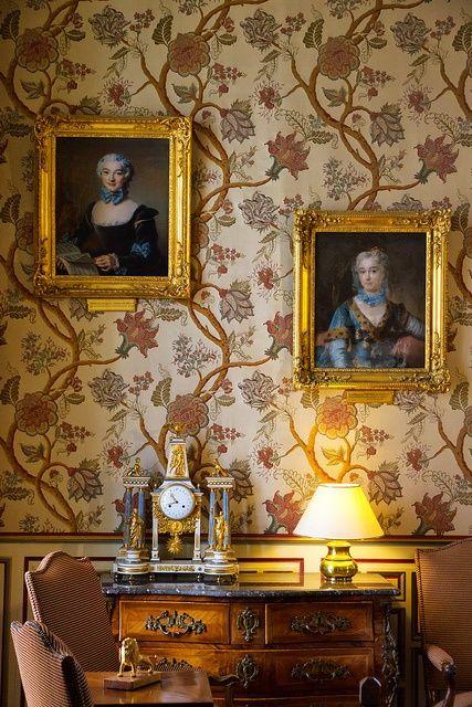 Ch teau de cheverny france hom decor home decor for Autrefois home decoration france