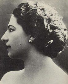 Mata Hari, Portrait von ca. 1912