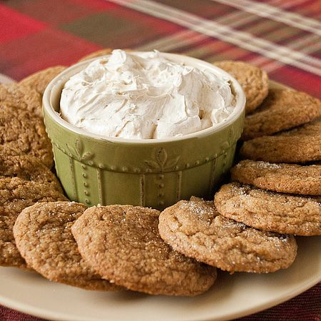 Chewy Ginger Cookies with Gingersnap Dip. Made these last year and ...