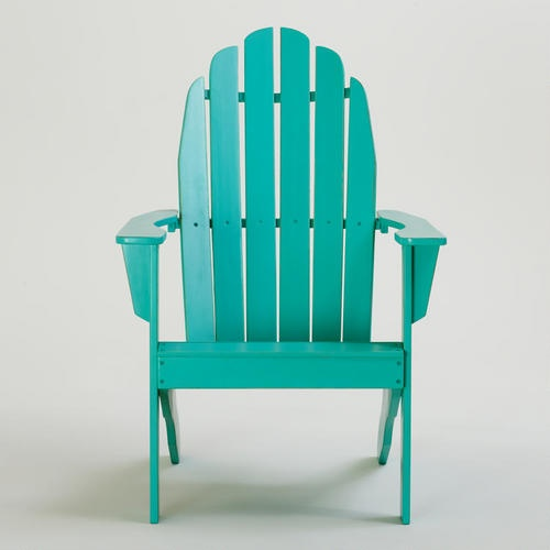 blue turquoise classic adirondack chair v2