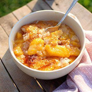 13 Crazy-Good Fruit Cobblers | Easy Peach Cobbler | SouthernLiving.com