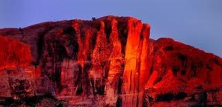 Moab, Utah...evening sky...