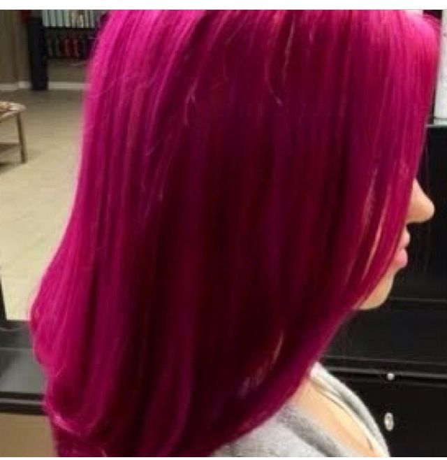 Magenta Hair Color NEED IT  Hairmakeup  Pinterest