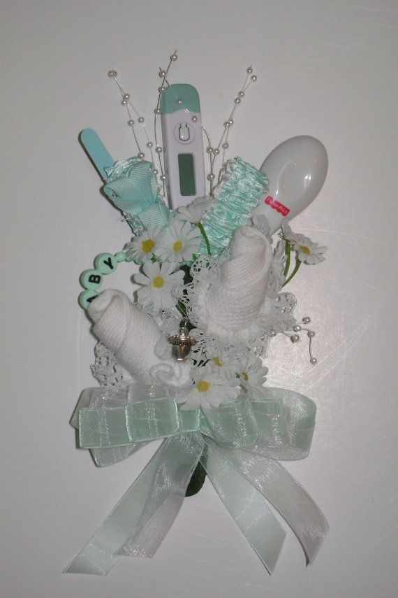 baby shower corsage baby sock corsage reusable items new mom co