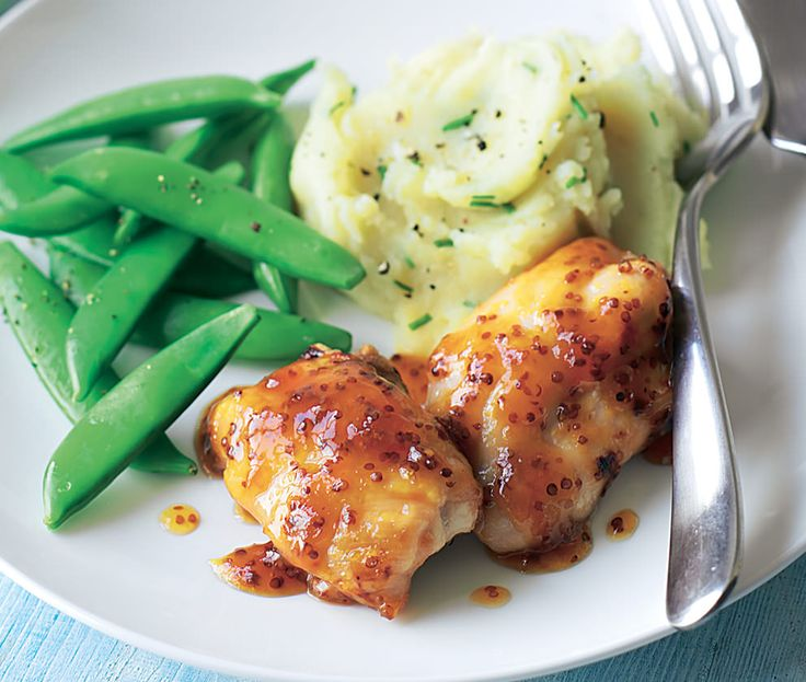 Apricot-Glazed Chicken Recipe — Dishmaps