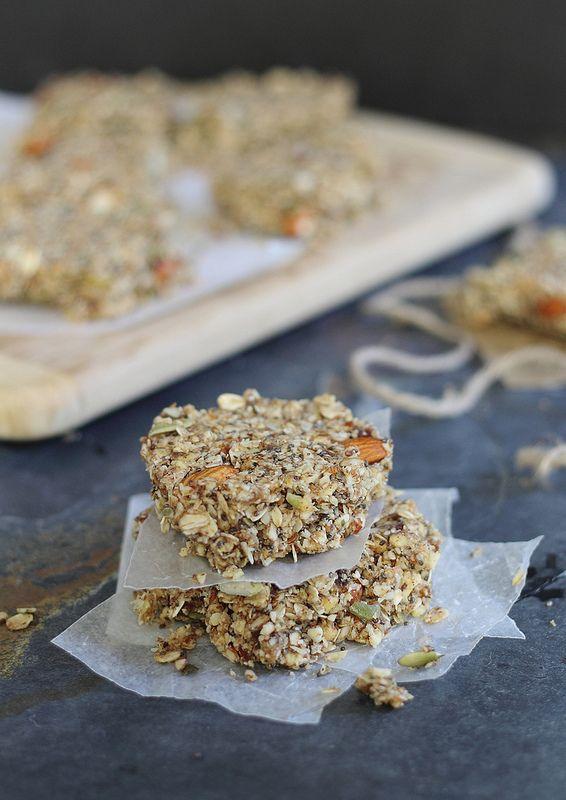 Apple cinnamon granola bars   Recipe