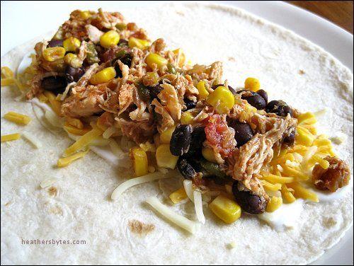 Lime Chicken Soft Tacos in the Crockpot | Foooood | Pinterest