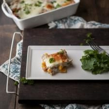 Roasted Pumpkin and Smoked Blue Cheese Lasagna What a perfect fall ...