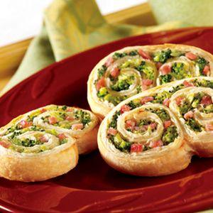 Ham & Broccoli Swirls | MyRecipes.com
