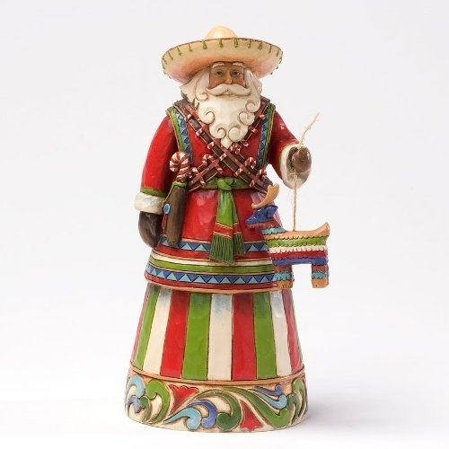 Enesco Jim Shore Heartwood Creek Mexican Santa Figurine 7-14-inch from Enesco Gift