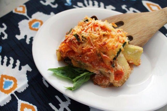 Healthy Hacks: Noodleless Veggie Lasagna - Nothing beats a cheesy ...