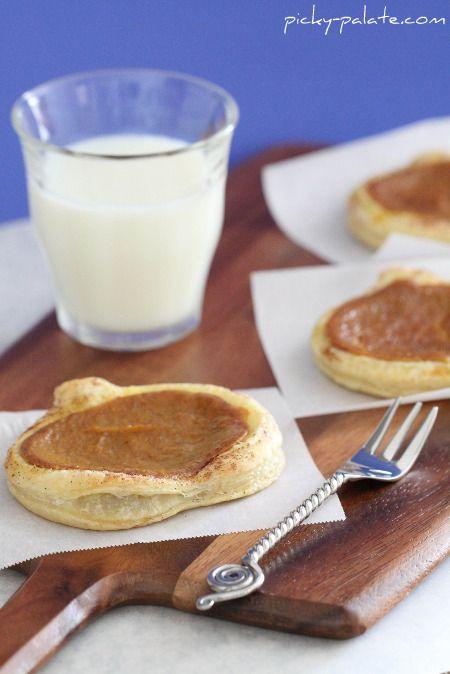 Cinnamon Toasted Pumpkin Pie Tarts | All Things Pumpkin | Pinterest