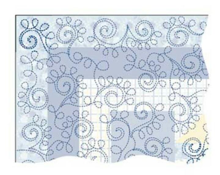 Free Hand Quilting Stencil Designs : free hand pattern Quilt General - Quilting Designs Pinterest