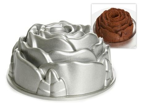 Rose Bundt Cake Images : Nordicware Rose Bundt Pan