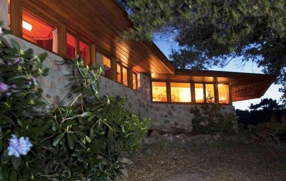 Berger house in san anselmo ca architect frank lloyd for Frank lloyd wright houses in california