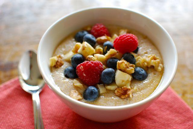 Creamy Amaranth Porridge - Eating Made Easy