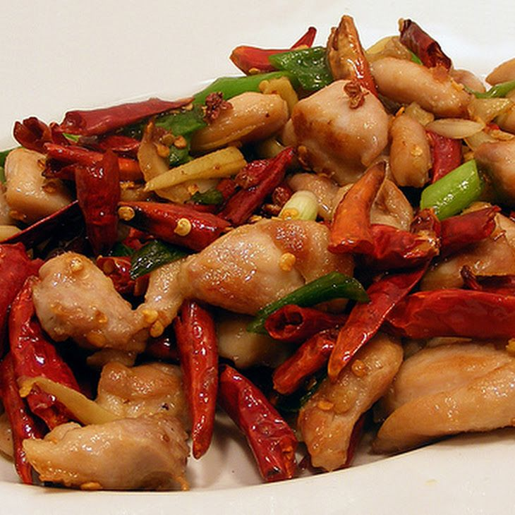 Spicy Stir-Fried Chicken and Peanuts | Chow | Pinterest