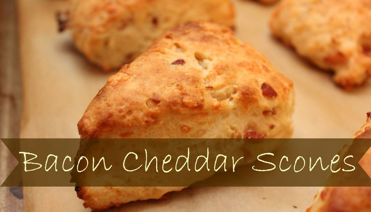 Bacon And Cheddar Scones Recipes — Dishmaps