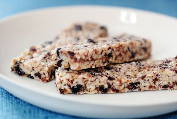 Cherry Vanilla Power bars are easy to make and a deliciously healthy ...