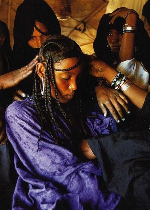 Tuareg bride. Niger.