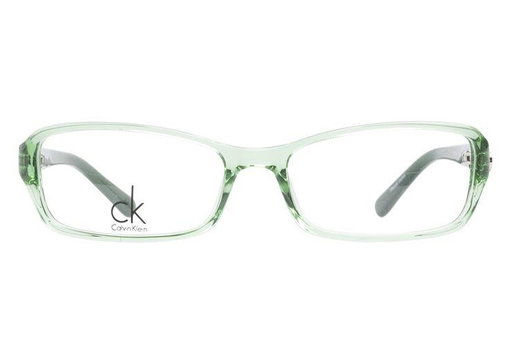 Bright Green Eyeglass Frames : Calvin Klein 5651 329 Green