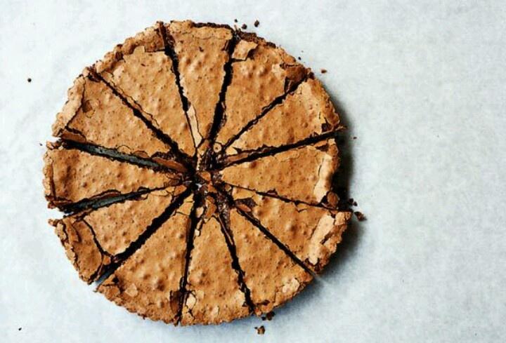 Chocolate tart with pine nuts | Sugar Rush | Pinterest