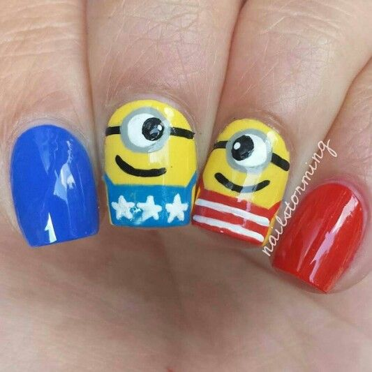 fourth of july minion images