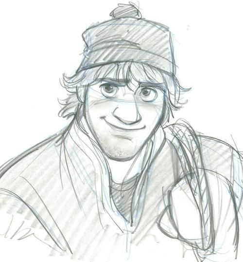Uploaded to PinterestHow To Draw Kristoff From Frozen Easy