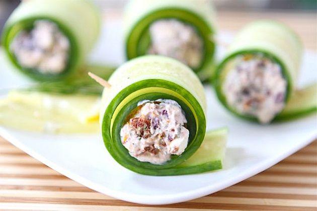 Cucumber Feta Rolls | Recipe