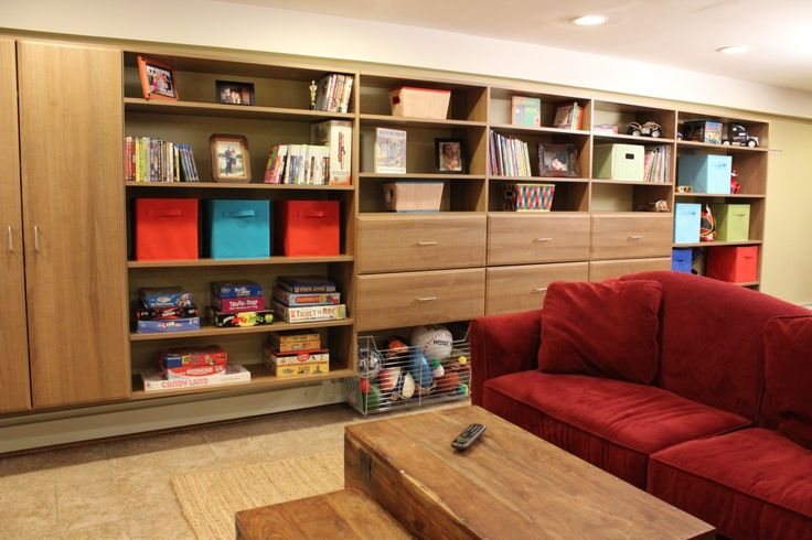 A Basement Makeover with @Vera Sweeney (Ladyandtheblog.com) - Part 1 - Inspired Organization