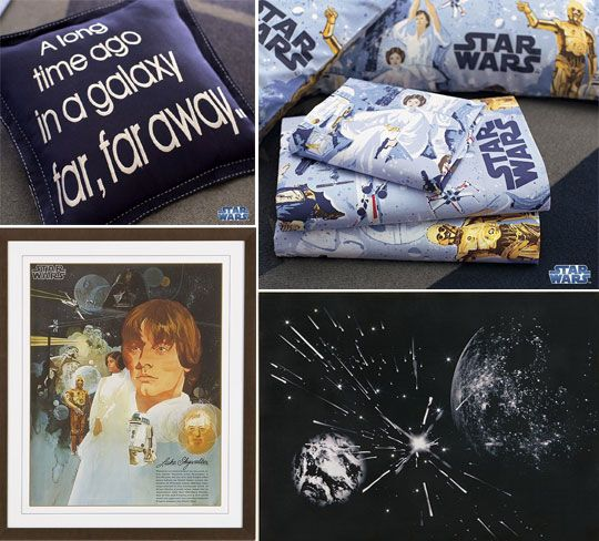 pottery barn kids star wars bedding and decor