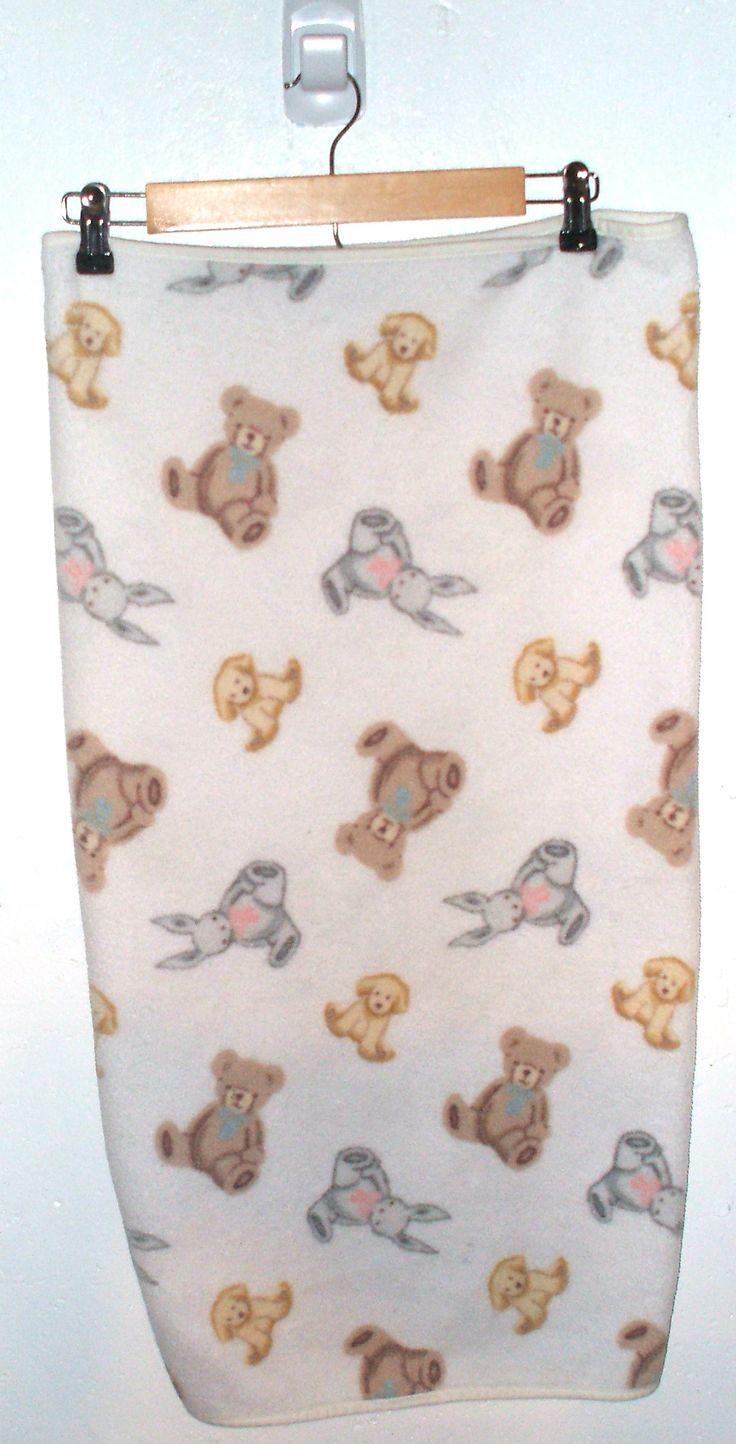 Carters Bunny , Rabbit , Dog Fleece Baby Blanket | Oh Baby!