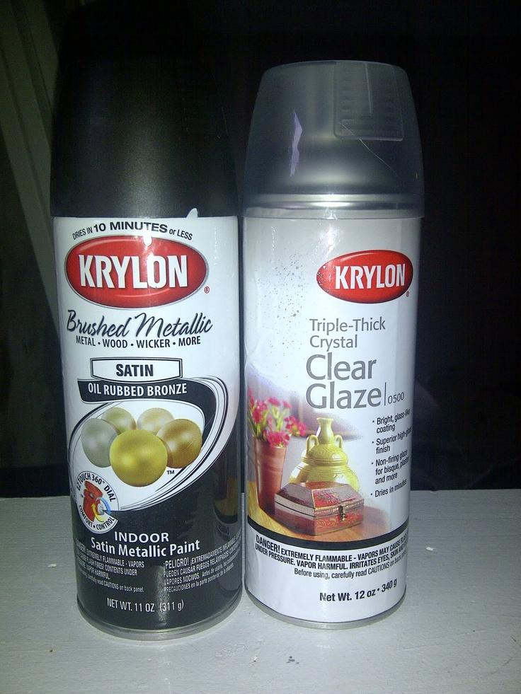 we used krylon 39 s brushed metallic spray paint in oil rubbed bronze. Black Bedroom Furniture Sets. Home Design Ideas