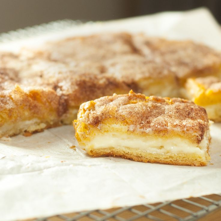 Sopapilla Cheesecake Pie from PAM - a few ingredients and a can of ...