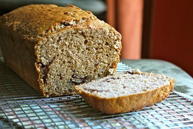 Whole-Wheat Cinnamon Swirl Bread | Food | Pinterest