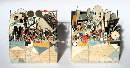 3d collages crafts pinterest. Black Bedroom Furniture Sets. Home Design Ideas