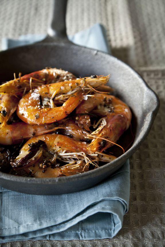 Pan Roasted Shrimp | Eat: Food | Pinterest
