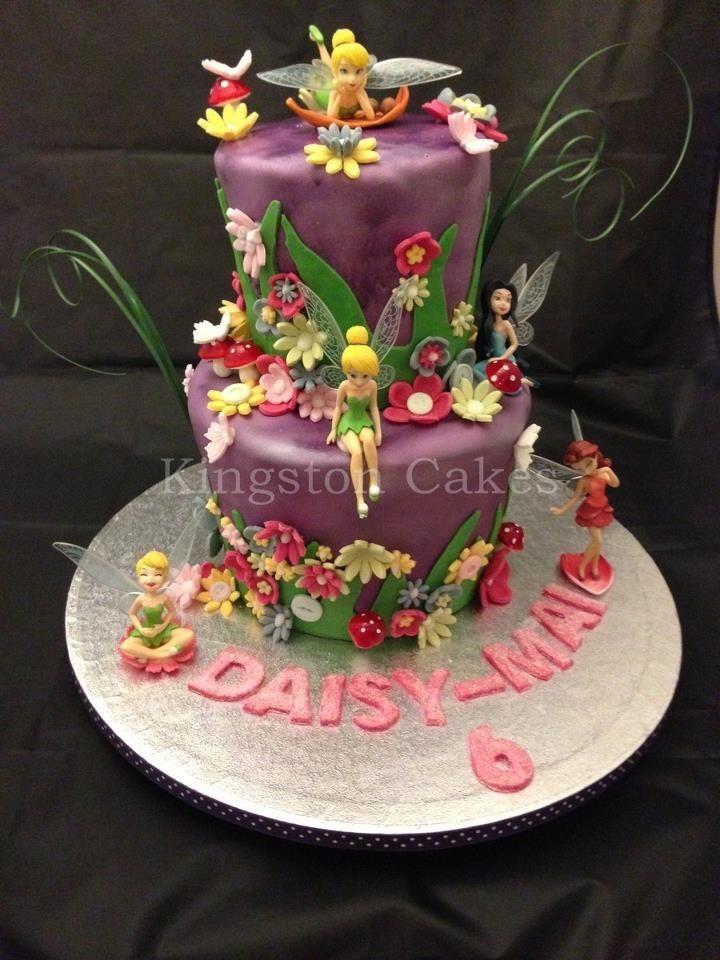 Tinkerbell cake :) Cake designs Pinterest