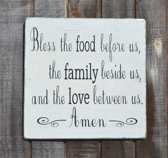 Kitchen Prayer Quotes: Wedding Food Blessings Quotes. QuotesGram