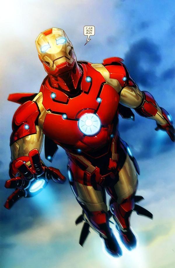 Iron man bleeding edge...