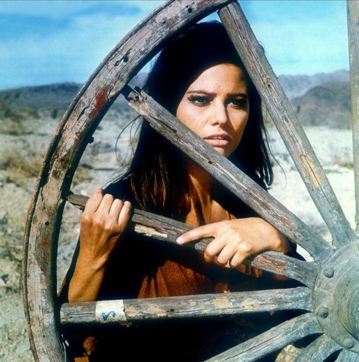 "Claudia Cardinale in ""The Professionals"", 1966"