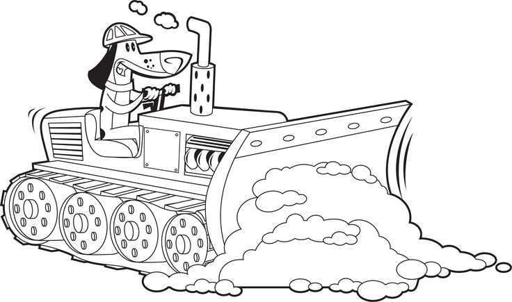 dozer coloring pages - photo#23