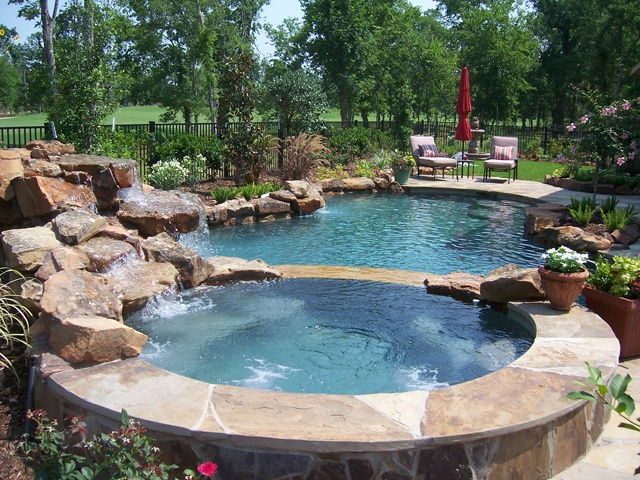 2 landscaping ideas for landscaping katy tx for Pool design katy