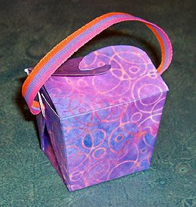 Chinese Take Out Box for Jewelry