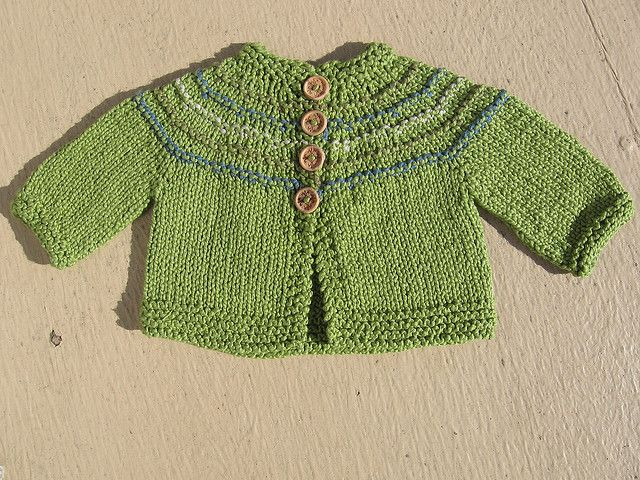 5 Hour Baby Sweater knitting Pinterest